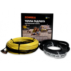 Одножильный кабель теплый пол Zomma