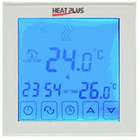 Терморегулятор Heat Plus BHT-323 Fora White/Black